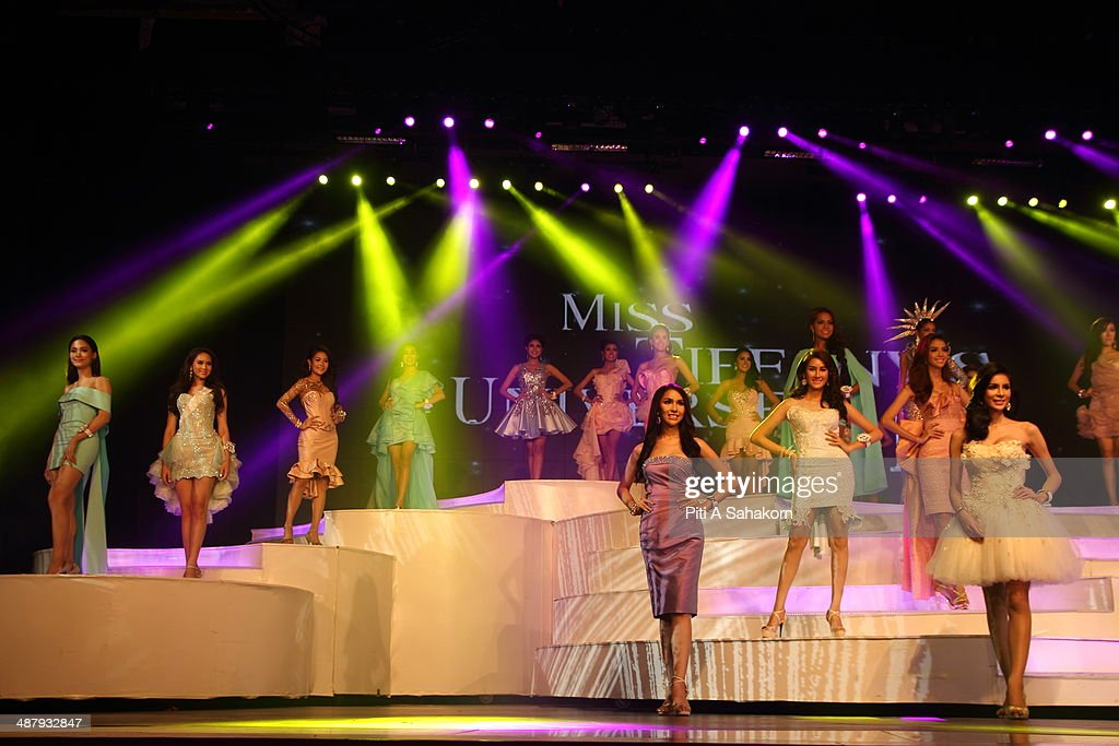 Transgender contestants compete during the Miss Tiffany's Universe transgender beauty contest in Pattaya. This year marked the 40th anniversary of the Tiffany's show in Pattaya and this was the 16th Miss Tiffany Universe contest with all of the transsexual or transvestite contestants, aiming to promote human rights for the trans-gender population in Thailand.