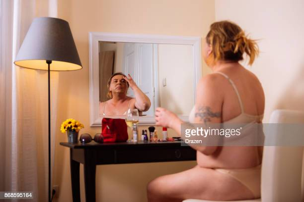 Transgenres personne vivant en réalité augmentée