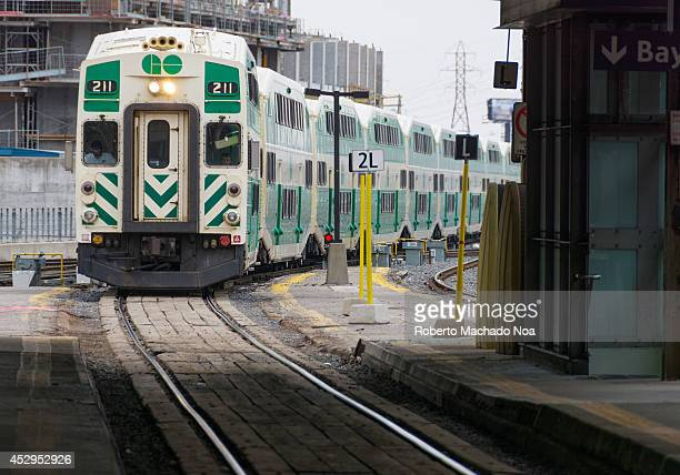 Transit belongs to Metrolinx and it is an interregional public transit system GO carried 655 million passengers in 2012 and its ridership continues...