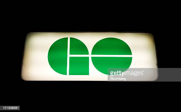 GO Transit signage is displayed outside of Union Station in Toronto Ontario Canada on Tuesday Aug 16 2011 GO Transit is an interregional public...
