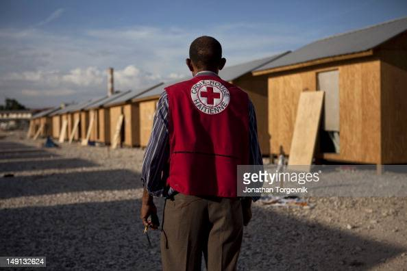 A transitional shelter project led and financed by the International Committee of the Red Cross on January 2011 in PortauPrince Haiti