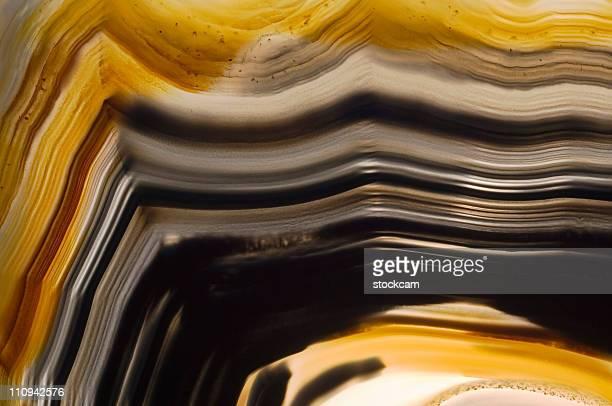 Translucent agate stone