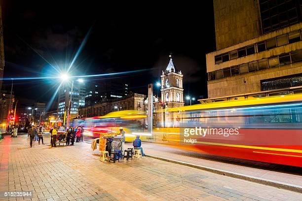 TransMilenio Bus System in Bogota, Colombia