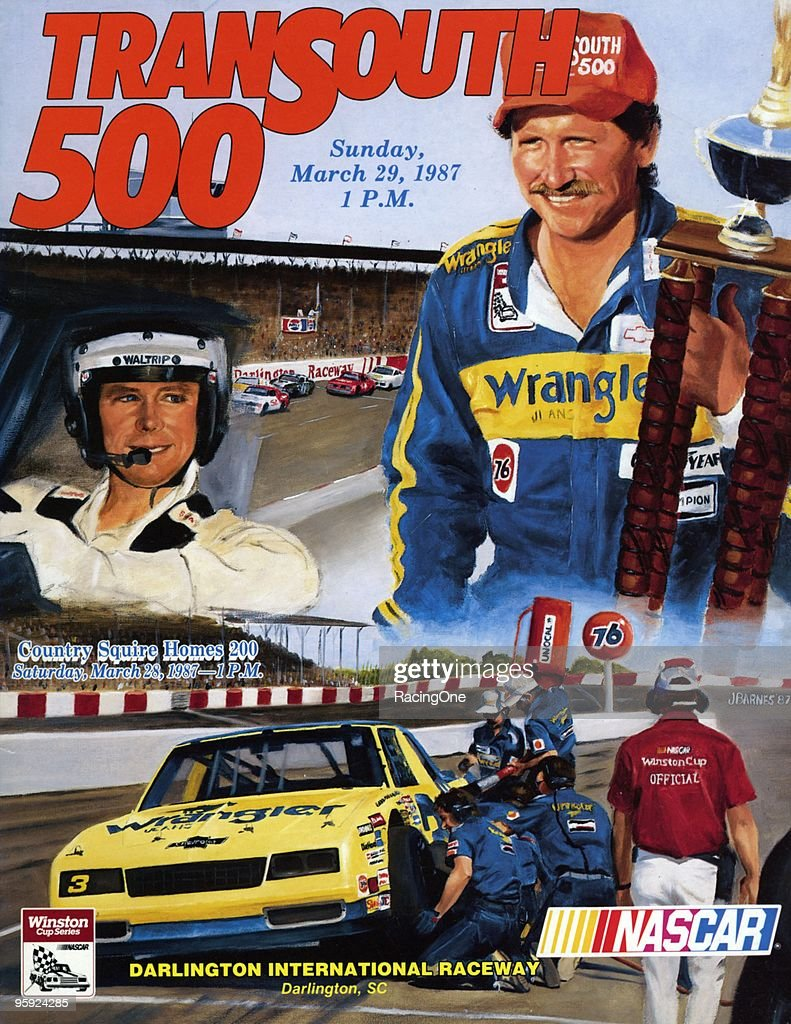 TranSouth 500 program cover from Darlington.