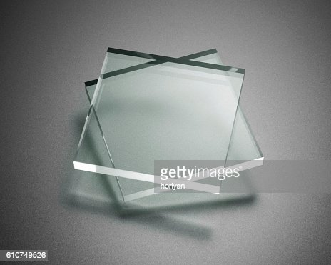Transparency plate abstract : Stock Photo