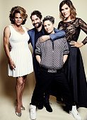 'Transparent' Alexandra Billingss Jay Duplass Jill Soloway and Lady J pose for a portrait at the 75th Annual Peabody Awards Ceremony at Cipriani Wall...