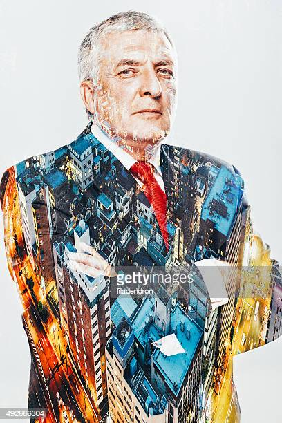 Transparent Businessman