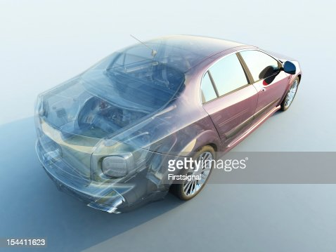 Transparent car : Stock Photo
