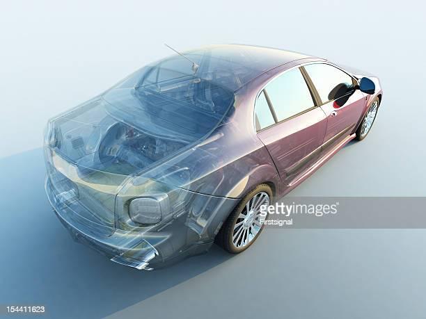 Transparente Auto