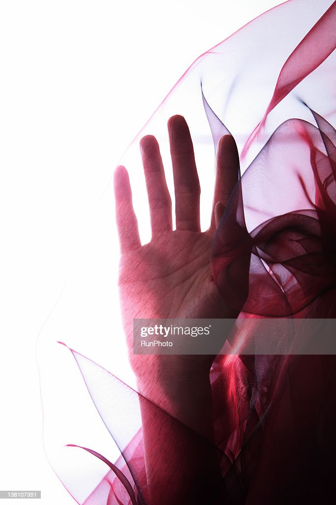 Transparent color cloth : Stock Photo