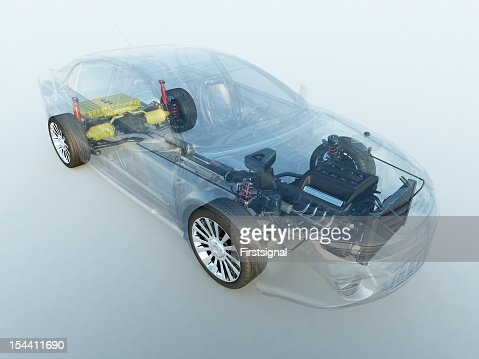 Transparent vehicle
