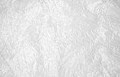 Transparent white cellophane or plastic, background