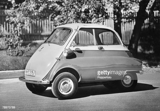 Transport Germany The BMW Isetta bubble car