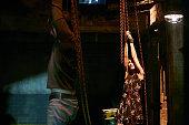 AFFAIRS 'Transport is Arranged' Episode 514 Pictured Christopher Gorham as Auggie Anderson Liane Balaban as Natasha Petrovna