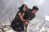 AFFAIRS 'Transport Is Arranged' Episode 514 Pictured Liane Balaban as Natasha Petrovna Christopher Gorham as Auggie Anderson