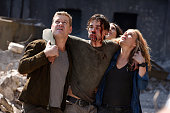 AFFAIRS 'Transport Is Arranged' Episode 514 Pictured Nic Bishop as Ryan McQuaid Christopher Gorham as Auggie Anderson Liane Balaban as Natasha...