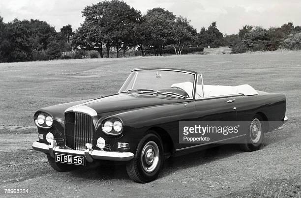 Transport Motor cars England Circa 1960's A vintage 60 Litre Bentley S3 Continental Drophead Coupe with coachwork by Park Ward