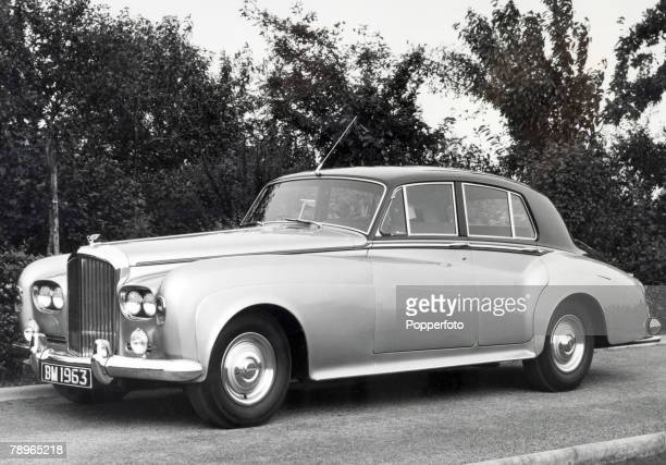 Transport Motor Cars England Circa 1960's Vintage Bentley S3 60 Litre Four Door Saloon car