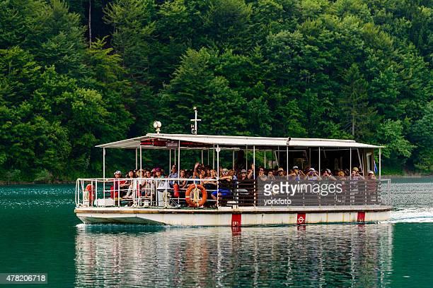 Transfer per Boot im Nationalpark Plitvicer Seen