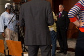 Transportation Secretary Ray LaHood speaks to reporters following a news conference at the Department of Transportation on August 2 2012 in...