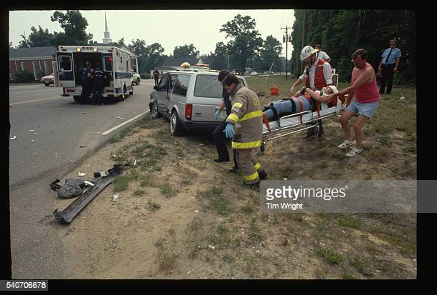 Transporting Victim of Automobile Accident