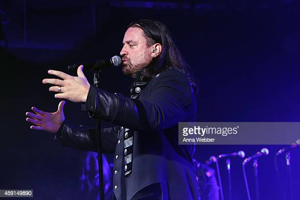 TransSiberian Orchestra performs onstage during an exclusive performance at The iHeartRadio Theater in New York at iHeartRadio Theater on November 17...