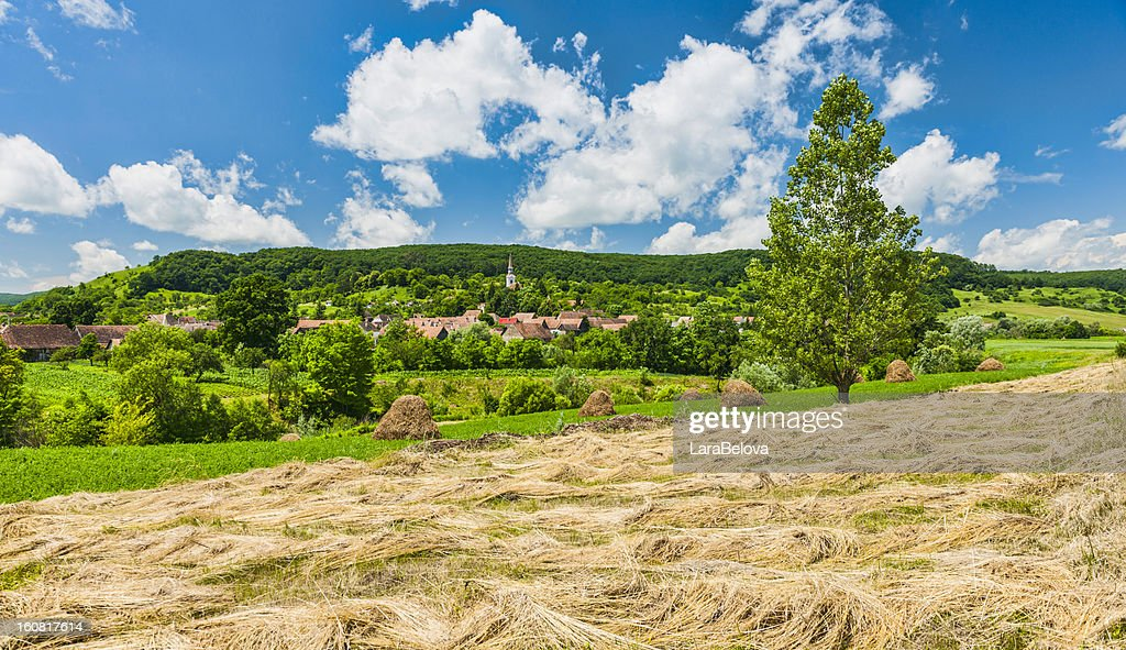 Transylvanian Landscape : Stock Photo