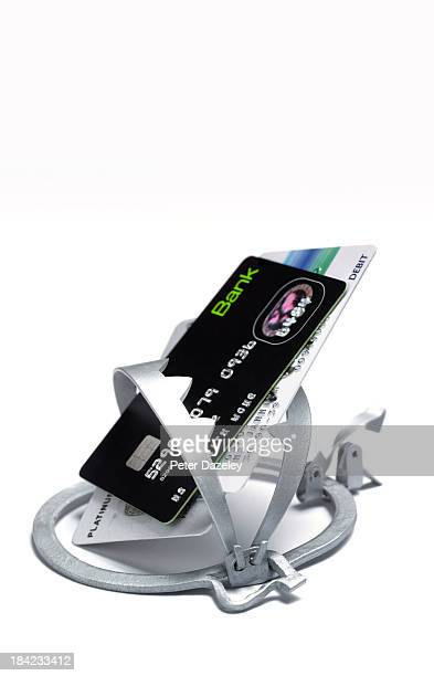 Trapped credit cards