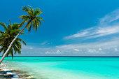 Traumstrand auf den Maldiven