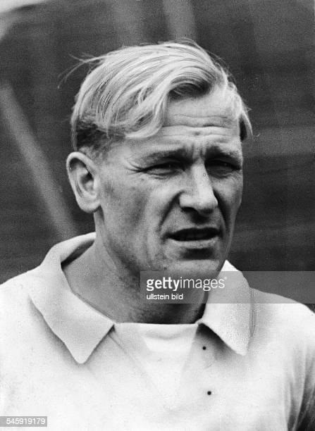 Trautmann Bernhard Carl 'Bert' *Fußballspieler DTorwart bei 'Manchester City' Portrait undatiert