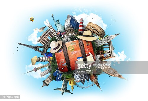 Travel and tourism : Stock Photo