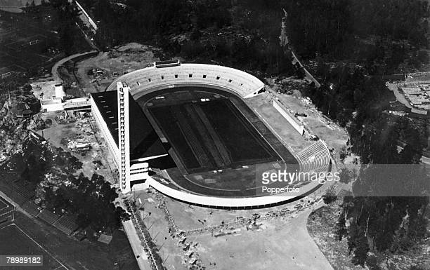 Travel Cities Sport Finland Helsinki pic circa 1950 The Olympic Stadium Helsinki venue for the 1952 Olympic Games