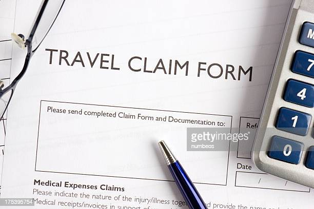 Travel claim form