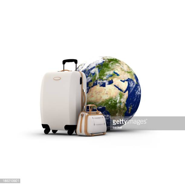 Travel concept isolated on white background