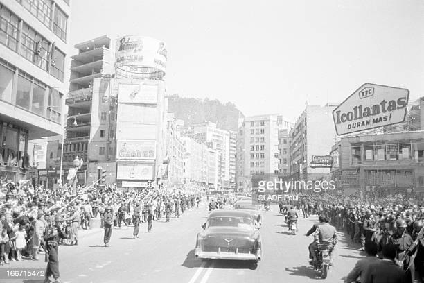 Travel Of John Fitzgerald Kennedy In Latin America En décembre 1961 à l'occasion d'un voyage officiel en Amérique latine du président des Etats Unis...