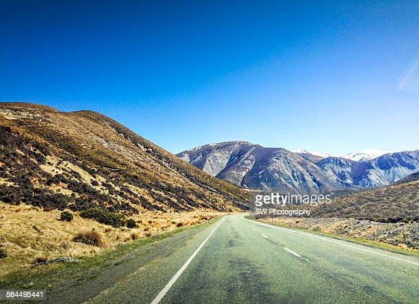 Travel on the road of New Zealand