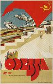 Travel Poster for Odessa USSR