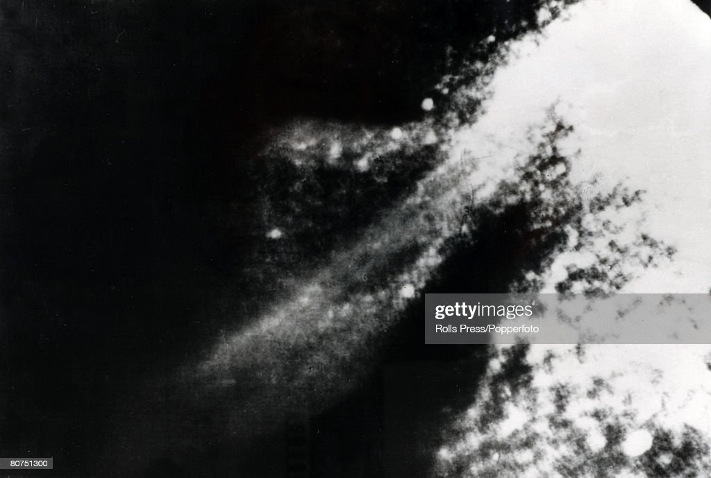 1975 This picture from underwater Loch Ness supposedly shows the flipper of the 30 foot long Loch Ness Monster although proof of this was inconclusive