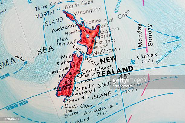 Parcourir le Globe série-Nouvelle-Zélande