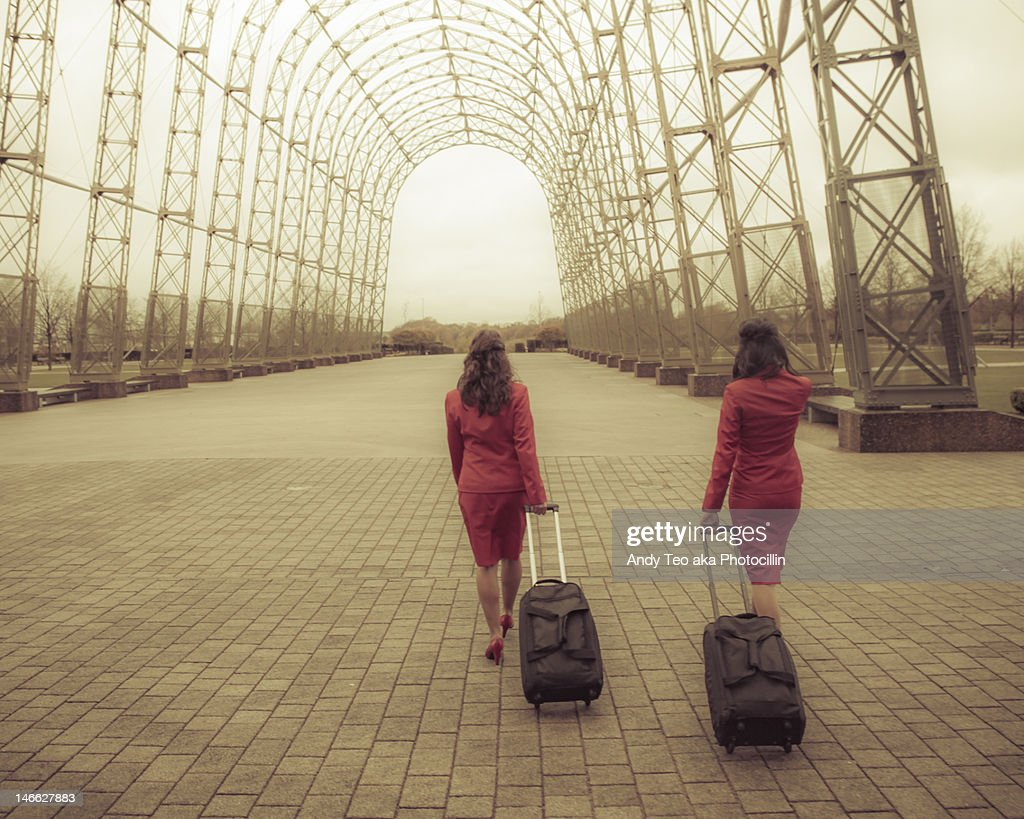 Travel tunnel : Stock Photo