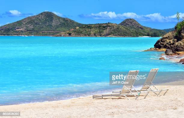 Travel View in remote Caribbean