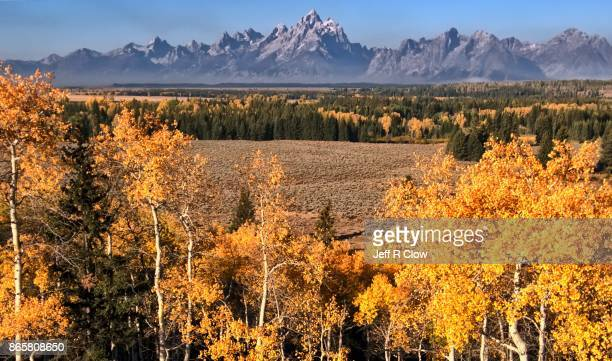 Travel View in Wyoming in Autumn 3
