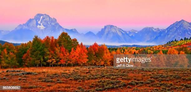 Travel View in Wyoming in Autumn 4
