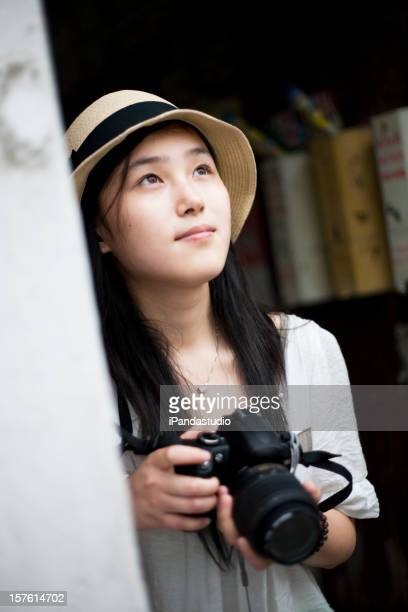 Travel with her camera