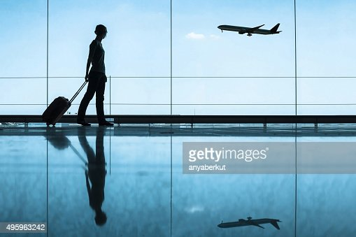 Image result for traveler at airport