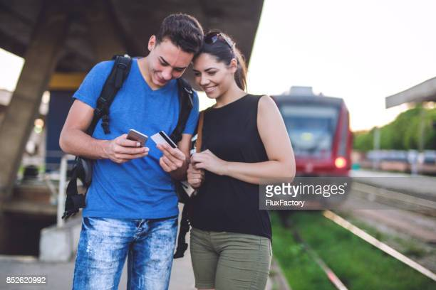 Travelers buying online