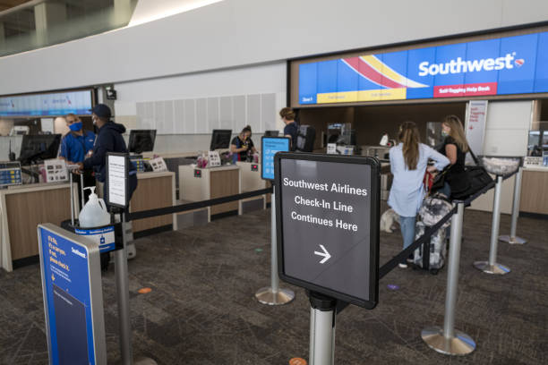 CA: Southwest Airlines Operations Ahead Of Earnings Figures