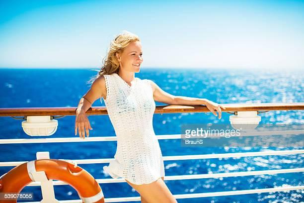Voyage sur un navire de croisière.