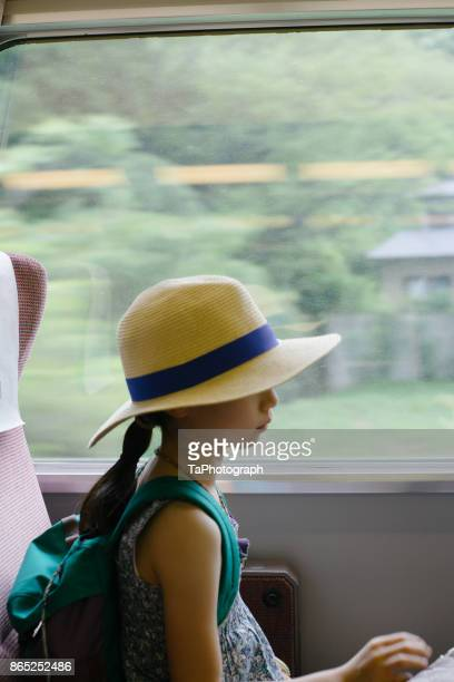 traveling on the train