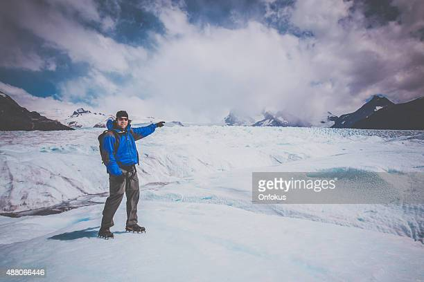 Glaciar Perito Moreno Traveller en, Patagonia, Argentina